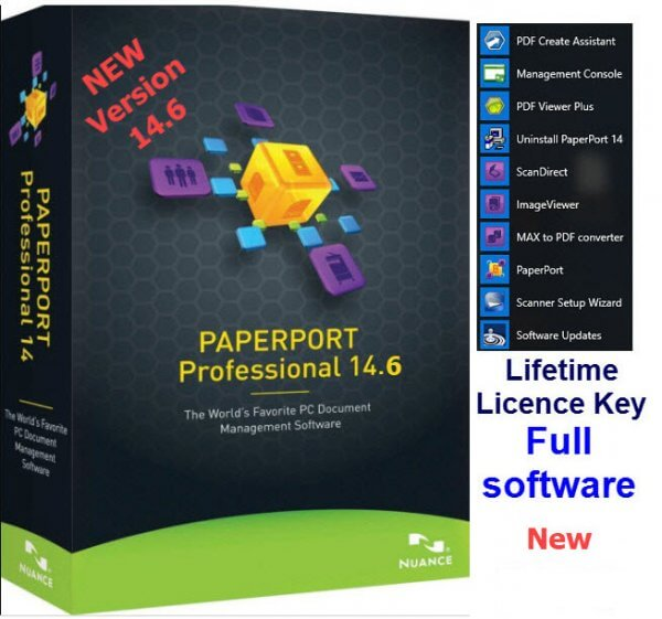 Niance PaperPort OCR software