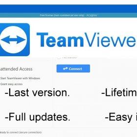 TeamViewer for remote desktop